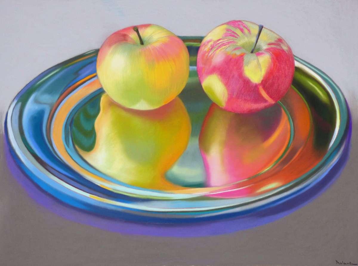 Pommes jumelles  78 x 58 cm_01.JPG