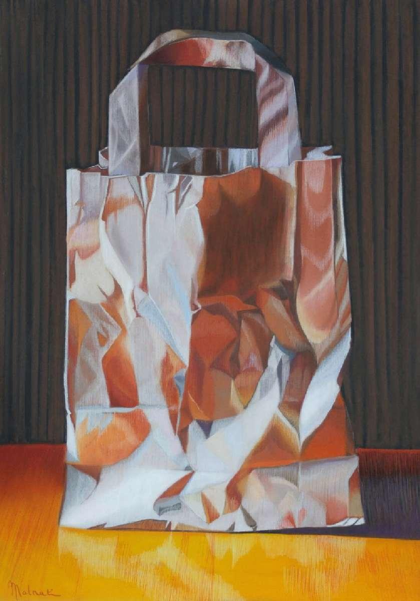 sac en papier brun  pastel  69x49 cm malnati 2014_01.JPG
