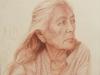 R Jaillet - Navajo  la mere -53x53-01