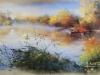 Breton M - brume matinale - 35x50 -320€