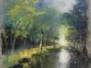 Breton M - l Epte a Giverny -70x50-550€