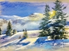 Breton M - neige de printemps - 35x50-320€