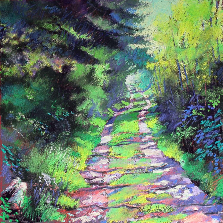 09 P Henry - chemin vert