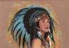 GEORGEL - amerindienne n4-50x70_01.JPG