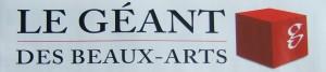 logo Géant des Beaux Arts 1