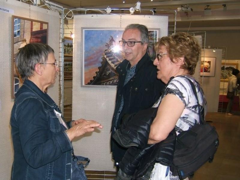 2017 salon – visite M le Maire
