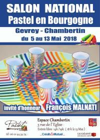 affiche salon pastel en bourgogne 2018