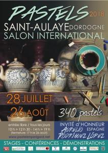 Affiche Salon 2018 St Aulaye
