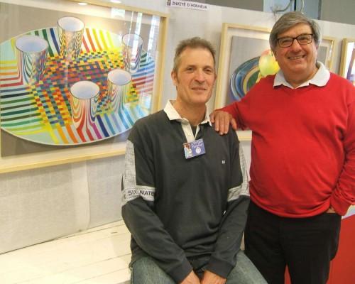 Francois Malnati et Didier Boinnard artisan pastellier